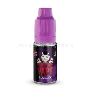 Black Jack - 10ml Vampire Vape Juice
