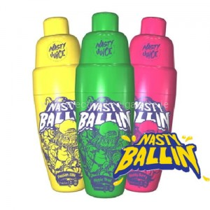 Nasty Juice Ballin E Liquid  All Flavors ShortFill 50ml
