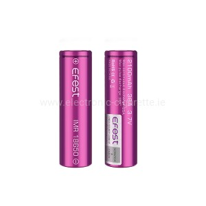 Efest Purple IMR 18650 2100 mAh 3.7V